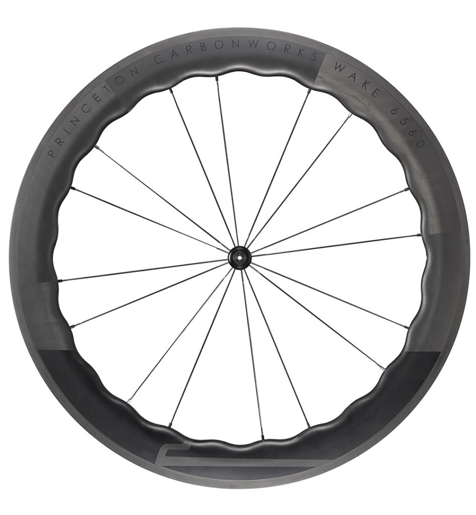 Princeton CarbonWorks Wake 6560 carbon bicycle wheelset