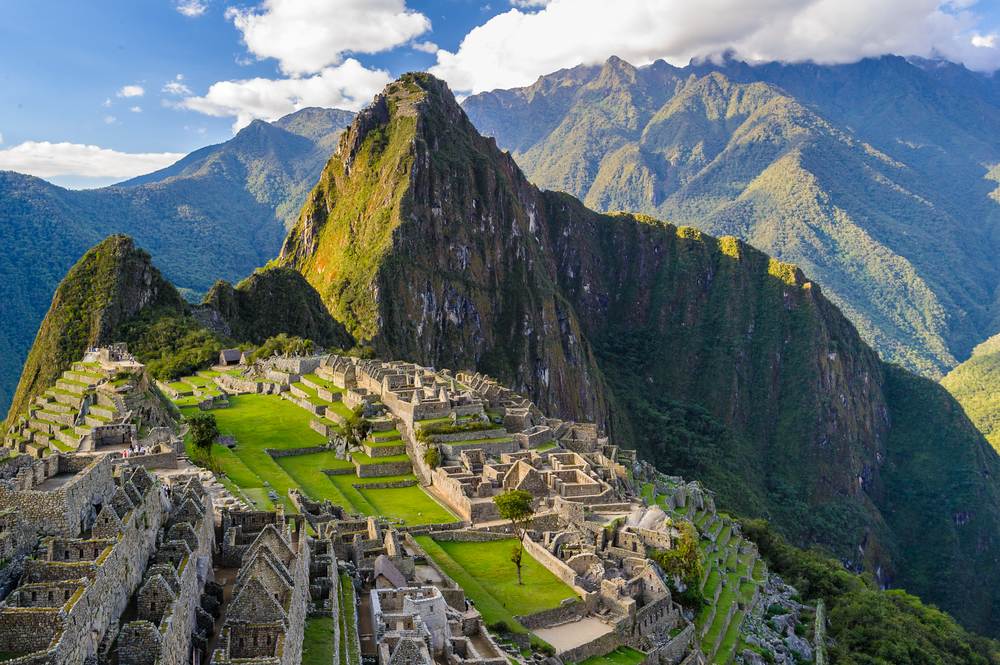 Machu Picchu in Peru, a UNESCO World Heritage Site