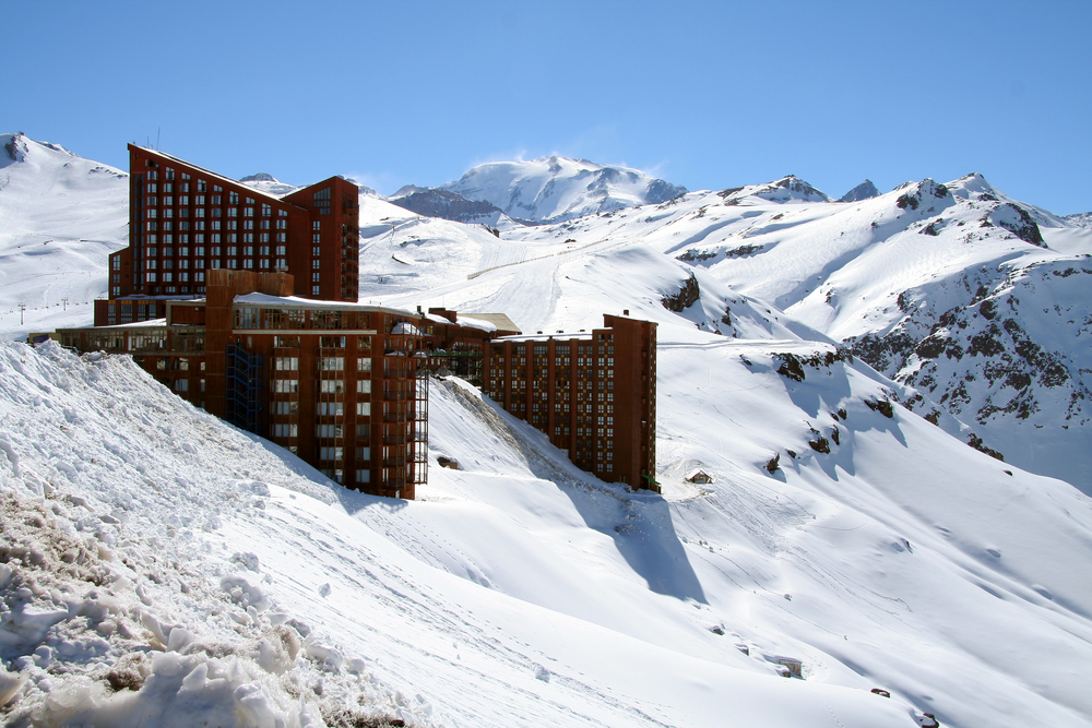 Valle Nevado Ski Resort in Chile