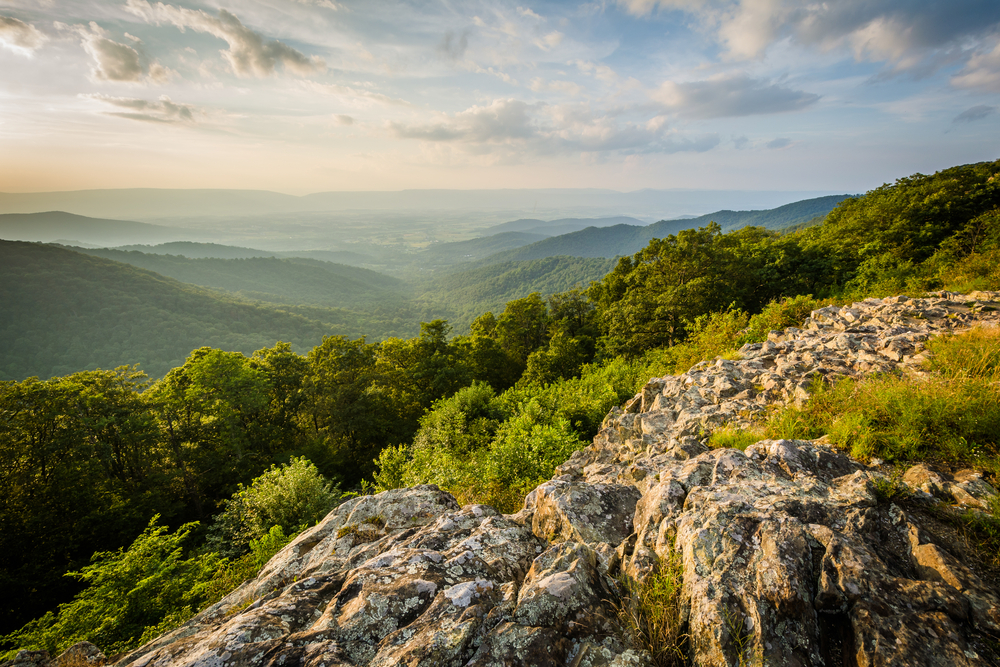Skyline Drive, in Shenandoah National Park, Virginia