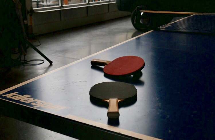 Every Roula ride starts with a good game of Table Tennis