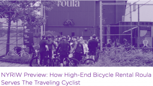 NYRIW Preview: How High-End Bicycle Rental Roula Serves The Traveling Cyclist Image