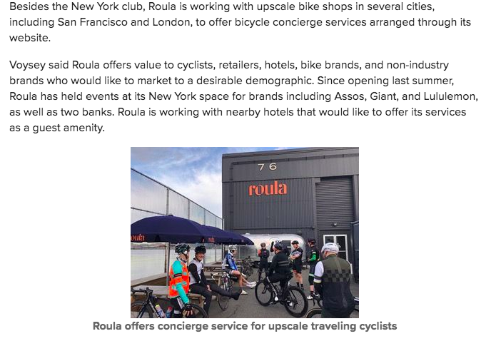 Bicycle retailer article 2